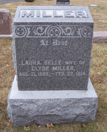 MILLER, LAURA BELLE - Shelby County, Iowa | LAURA BELLE MILLER