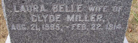 MILLER, LAURA BELLE (CLOSE-UP) - Shelby County, Iowa | LAURA BELLE (CLOSE-UP) MILLER