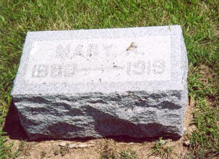 MILLER, MARY A. (VAN ARSDOL) - Shelby County, Iowa   MARY A. (VAN ARSDOL) MILLER