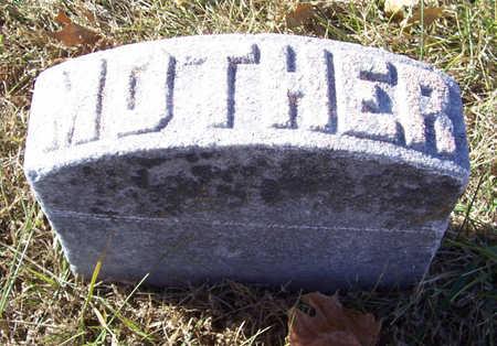 MILLER, SUSAN C. (MOTHER) - Shelby County, Iowa   SUSAN C. (MOTHER) MILLER