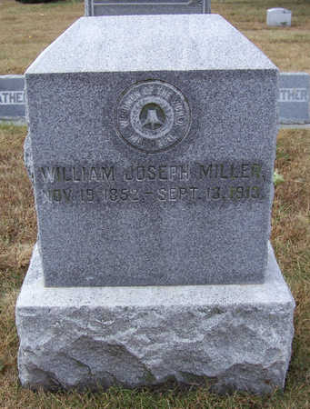 MILLER, WILLIAM JOSEPH - Shelby County, Iowa | WILLIAM JOSEPH MILLER