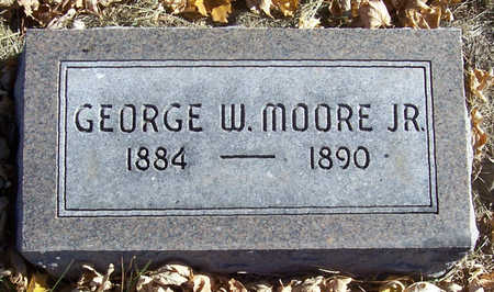 MOORE, GEORGE W., JR. - Shelby County, Iowa | GEORGE W., JR. MOORE