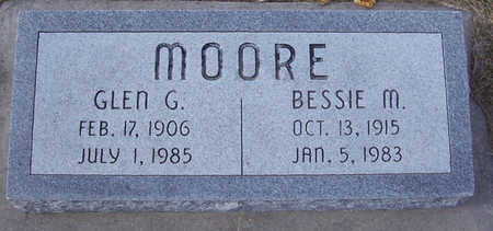 MOORE, GLEN G. - Shelby County, Iowa | GLEN G. MOORE