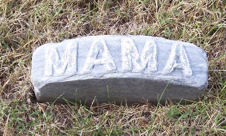MOORE, NETTIE D. (MAMA) - Shelby County, Iowa | NETTIE D. (MAMA) MOORE