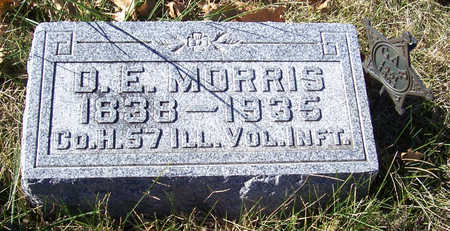 MORRIS, D. E. (MILITARY) - Shelby County, Iowa | D. E. (MILITARY) MORRIS