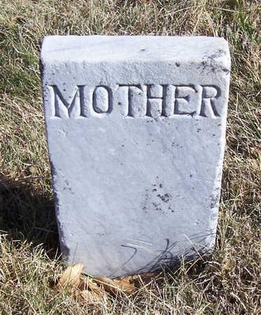 MORRIS, EVALINE A. (MOTHER) - Shelby County, Iowa   EVALINE A. (MOTHER) MORRIS