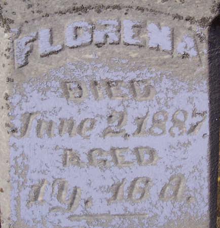 MORRIS, FLORENA - Shelby County, Iowa | FLORENA MORRIS