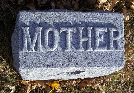 MORRIS, MARTHA A. (MOTHER) - Shelby County, Iowa | MARTHA A. (MOTHER) MORRIS