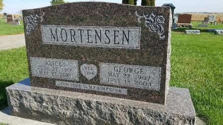 WIGES MORTENSEN, ALICE - Shelby County, Iowa | ALICE WIGES MORTENSEN
