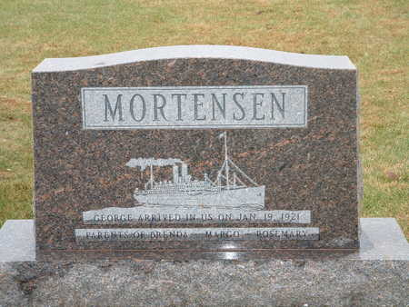 MORTENSEN, GEORGE - Shelby County, Iowa | GEORGE MORTENSEN