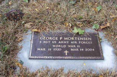 MORTENSEN, GEORGE P. (MILITARY) - Shelby County, Iowa | GEORGE P. (MILITARY) MORTENSEN