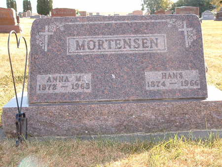 MORTENSEN, ANNA - Shelby County, Iowa | ANNA MORTENSEN