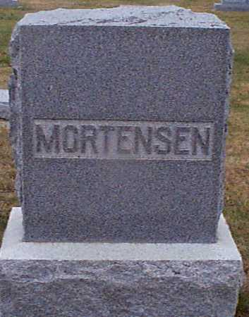 MORTENSEN, NIELS - Shelby County, Iowa | NIELS MORTENSEN