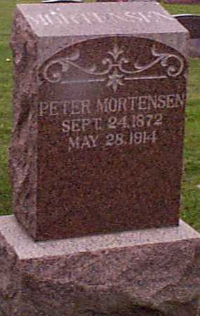MORTENSEN, PETER - Shelby County, Iowa | PETER MORTENSEN