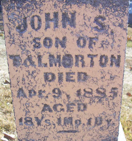 MORTON, JOHN S. (CLOSE-UP) - Shelby County, Iowa | JOHN S. (CLOSE-UP) MORTON