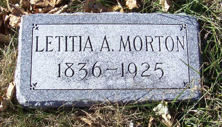 MORTON, LETITIA A. - Shelby County, Iowa | LETITIA A. MORTON