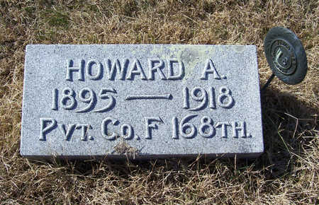 MOWRY, HOWARD A. (MILITARY) - Shelby County, Iowa | HOWARD A. (MILITARY) MOWRY