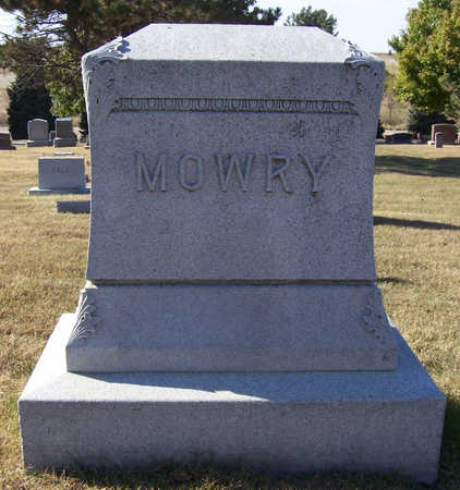 MOWRY, OSCAR S. & JENNIE I. (LOT) - Shelby County, Iowa | OSCAR S. & JENNIE I. (LOT) MOWRY