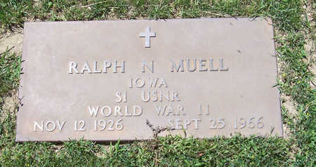 MUELL, RALPH N. (MILITARY) - Shelby County, Iowa | RALPH N. (MILITARY) MUELL