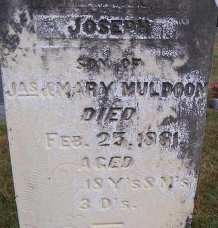 MULDOON, JOSEPH (CLOSE UP) - Shelby County, Iowa | JOSEPH (CLOSE UP) MULDOON