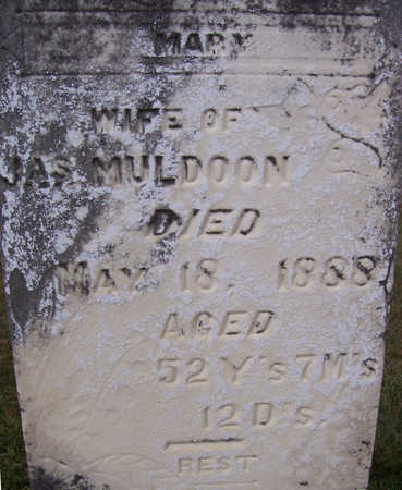 MULDOON, MARY (CLOSE UP) - Shelby County, Iowa | MARY (CLOSE UP) MULDOON
