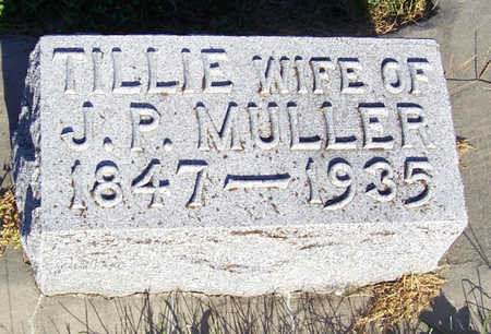 MULLER, TILLIE - Shelby County, Iowa | TILLIE MULLER