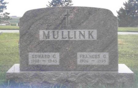 MULLINK, FRANCES GENEVIEVE - Shelby County, Iowa | FRANCES GENEVIEVE MULLINK
