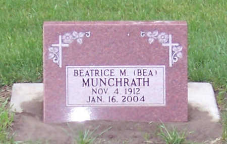 MUNCHRATH, BEATRICE M.