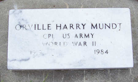 MUNDT, ORVILLE HARRY - Shelby County, Iowa | ORVILLE HARRY MUNDT