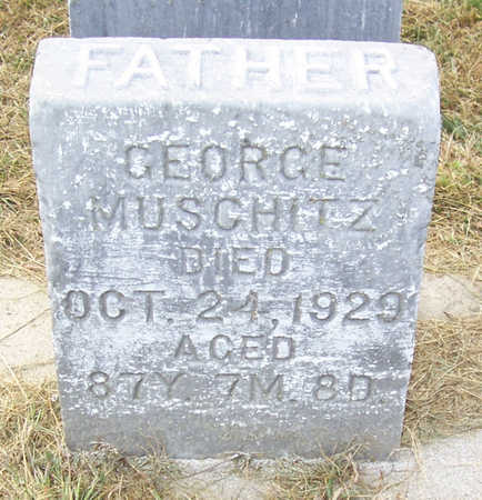 MUSCHITZ, GEORGE (FATHER) - Shelby County, Iowa | GEORGE (FATHER) MUSCHITZ