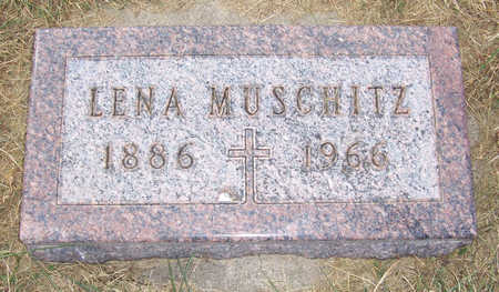 MUSCHITZ, LENA - Shelby County, Iowa | LENA MUSCHITZ