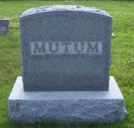 MUTUM, (LOT) - Shelby County, Iowa | (LOT) MUTUM