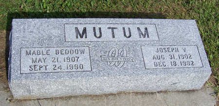 BEDDOW MUTUM, MABLE - Shelby County, Iowa | MABLE BEDDOW MUTUM