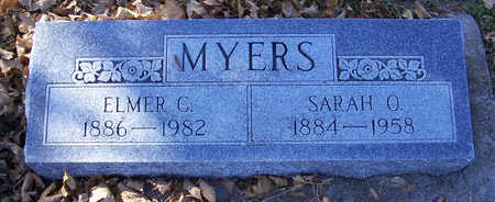 MYERS, ELMER C. - Shelby County, Iowa | ELMER C. MYERS
