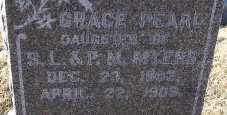 MYERS, GRACE PEARL (CLOSE-UP) - Shelby County, Iowa | GRACE PEARL (CLOSE-UP) MYERS
