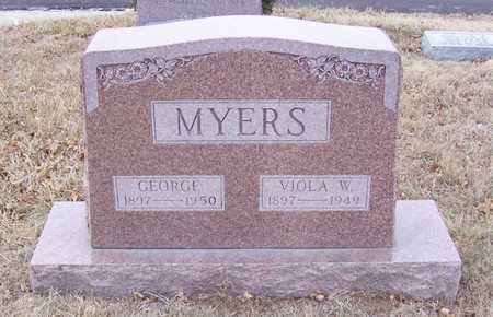 MYERS, VIOLA W. - Shelby County, Iowa | VIOLA W. MYERS
