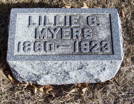 MYERS, LILLIE C. - Shelby County, Iowa | LILLIE C. MYERS