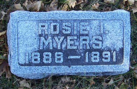 MYERS, ROSIE I. - Shelby County, Iowa | ROSIE I. MYERS