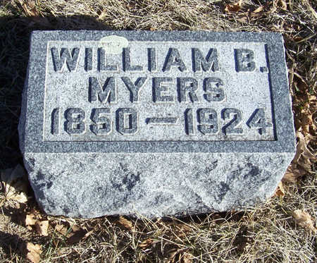 MYERS, WILLIAM B. - Shelby County, Iowa | WILLIAM B. MYERS