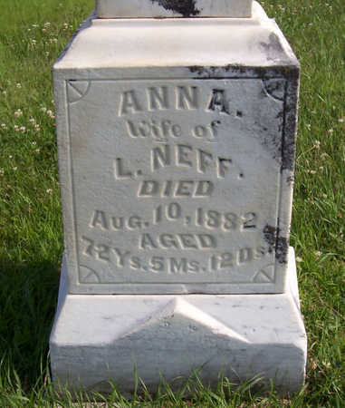 NEFF, ANNA - Shelby County, Iowa | ANNA NEFF