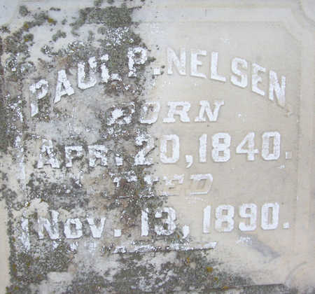 NELSEN, PAUL P. (CLOSE UP) - Shelby County, Iowa | PAUL P. (CLOSE UP) NELSEN
