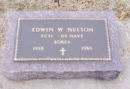 NELSON, EDWIN W. (MILITARY) - Shelby County, Iowa | EDWIN W. (MILITARY) NELSON