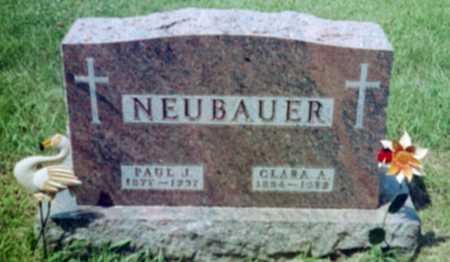 NEUBAUER, CLARA A. - Shelby County, Iowa | CLARA A. NEUBAUER