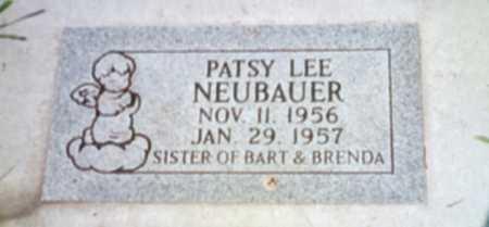 NEUBAUER, PATSY LEE - Shelby County, Iowa | PATSY LEE NEUBAUER