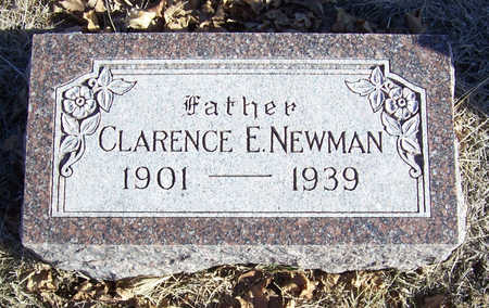 NEWMAN, CLARENCE E. (FATHER) - Shelby County, Iowa | CLARENCE E. (FATHER) NEWMAN