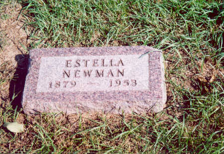 NEWMAN, ESTELLA - Shelby County, Iowa | ESTELLA NEWMAN