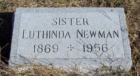 NEWMAN, LUTHINDA - Shelby County, Iowa | LUTHINDA NEWMAN