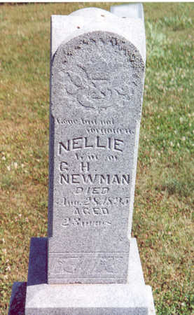 NEWMAN, NELLIE - Shelby County, Iowa | NELLIE NEWMAN