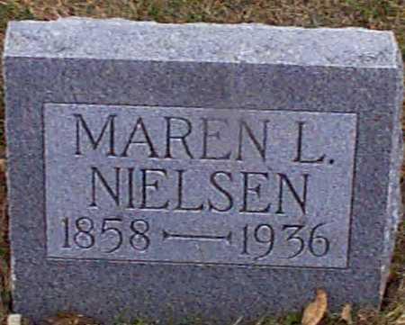 NIELSEN, MAREN L - Shelby County, Iowa | MAREN L NIELSEN