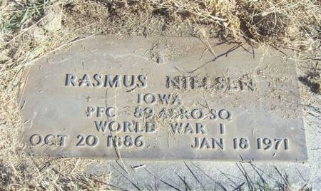 NIELSEN, RASMUS (MILITARY) - Shelby County, Iowa | RASMUS (MILITARY) NIELSEN